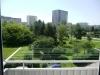 pohled z balkónu